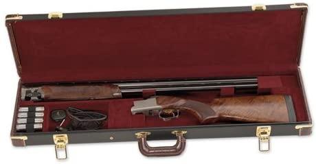 ESTUCHE CHESAPEAKE Negro/BROWN FITTED GUN CASE 2
