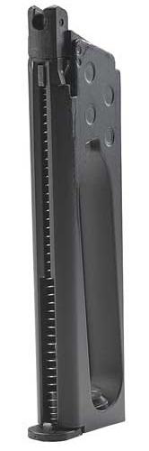 PISTOLA 2254028 COLT COMMANDER NEGRA CO2 3