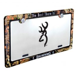 LICENSE FRAME INFINITY BROWNING 5