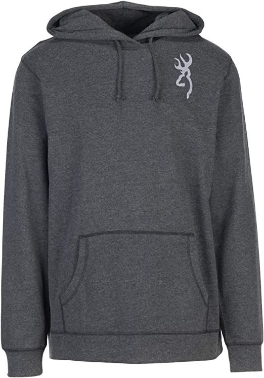 SUDADERA BROWNING HEATHER GRAY MED 2